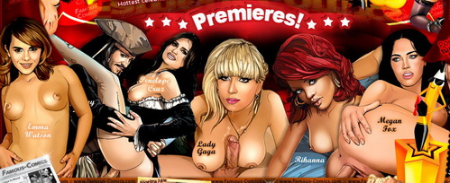 Celebrity Sex Dreams - welcome! - Celebrity Porn Comics